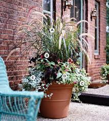 Building A Dream House Front Porch Container Gardens  Gardens Container Garden Ideas For Front Porch