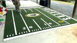 large football field rug football field rug football field rug popular turf rugs tailgating camping name