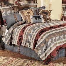 cabin bedding set lodge style comforter sets best bedroom images on black forest decor bedding rustic cabin bedding