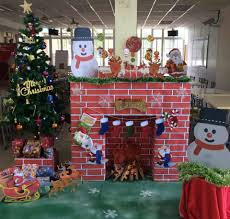 holiday office decorating ideas. Amazing Christmas Decoration Ideas For Office Holiday Decorating E