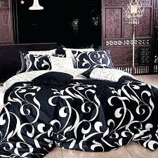 black and white chandelier bedding vintage bedroom design with black white bedding set king romantic black