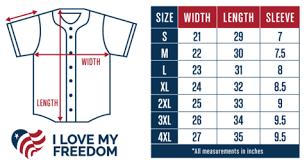 Baseball Jersey Sizes Kasa Immo