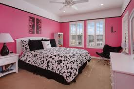 Formidable Pink Black White Bedroom Spectacular Home Decor Arrangement Ideas  with Pink Black White Bedroom