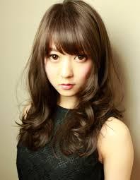 大人可愛い暗髪パーマセミロングhi 283 ヘアカタログ髪型ヘア