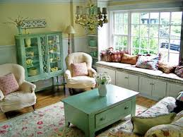 Living Room Home Decorating Ideas Cottage Excerpt Vintage Bedroom ...