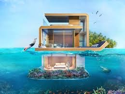 Underwater Habitat Design Ultra Luxurious Underwater Homes Are Being Built In Dubai