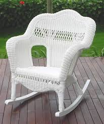 white wicker furniture. Delighful Wicker Rocker Sahara End Table And White Wicker Furniture