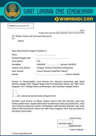 Dikutip dari laman resminya, informasi terkai pendaftaran cpns kemenkumham telah diumumkan. Download Surat Lamaran Cpns Kemenkumham Dan Surat Pernyataan Tahun 2019 Cpns 2021 Daya Tampung Snmptn Sbmptn Umptkin