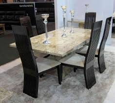Marble Dining Room Sets Marble Dining Room Table Set Decorating Home Ideas