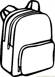 Small Picture Backpack Coloring Pages 10 Backpack worksheets for kids