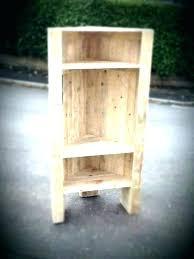 diy corner shelf corner shelf pallet furniture unit kitchen floating shelves free plans and tutorial by