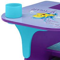 chair desk with storage bin. disney little mermaid chair desk with storage bin