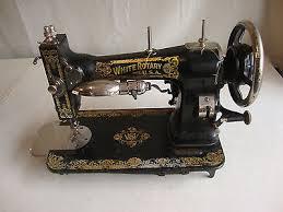 White Rotary Sewing Machine Value