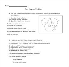 Drawing A Venn Diagram 9 Venn Diagram Worksheet Templates Pdf Doc Free Premium