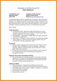 025 Template Ideas Skills Based Resume Free Best Cv Skill