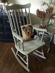 Antique Skeleton Rocking Chair Home Designs Solid Wood Restored ...