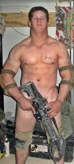 Nude Military Cosplay