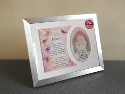 special mum memory mount thank you gift present with a beautiful verse choice of photo