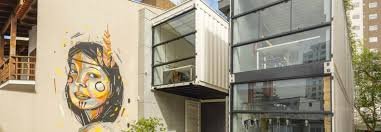 container office building. Green Roofs Cool Co-working Shipping Container Office In Brazil Building E