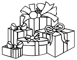 Present Coloring Pages Coloring Pages Presents Accidental