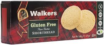 <b>Печенье песочное</b> без глютена круглое <b>Walkers</b>, 140 г — купить в ...
