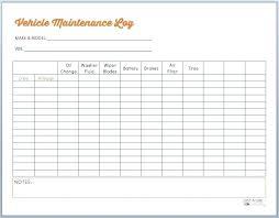 Printable Mileage Chart Auto Mileage Log Template Printable Vehicle Maintenance Car
