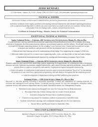 Writer Resume Template Custom Technical Writer Resume Sample Unique Professional Resume Templates