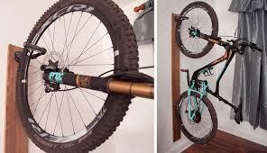 mountain bike wall hanger clothing