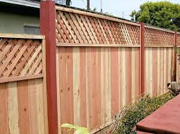 wood fence sections decorative wood fence panels