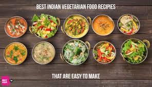 best indian vegetarian food recipes
