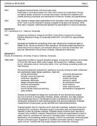 Architect Resume Objective Template Architecture Cmtsonabelorg