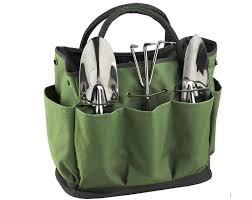 jklcom gardening tote bag garden tool bag garden tote home organizer gardening tool kit holder oxford bag gardening tools organizer tote lawn yard bag with
