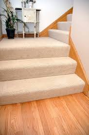 textured carpet on wall to wall stairs