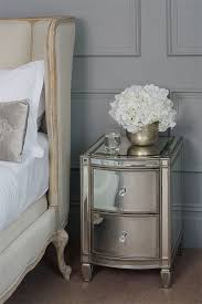mirrored bedside table. antoinette toughened mirror bedside table mirrored r