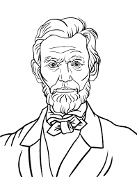 Small Picture Free Abraham Lincoln Coloring Page