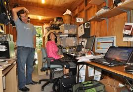 storage shed office. Bryan Pate And AnaMarie Nino-Murcio Of ElliptiGO Storage Shed Office