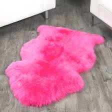 pink fur carpet hand pink faux