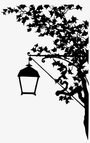 Clip Freeuse Library Clipart Vintage Street Lamp Silhouette