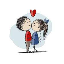 308 939 couple in love vector images