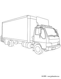 20 Dessins De Coloriage Transport Camion Imprimer