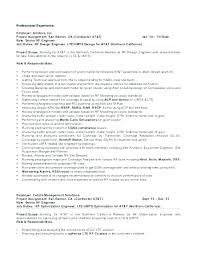 Rf Test Engineer Sample Resume Unique Rf Systems Engineer Sample Resume New Rf Design Engineer Resume
