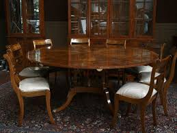 image of 60 round dining table with leaf
