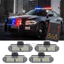 Police Car Light Bar For Sale Amazon Com Clidr Hot Sale 4x2 Ambulance Police Light 2 Led