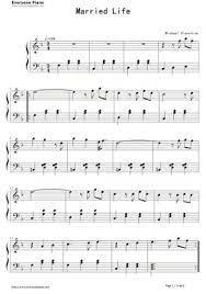 This is a shortened, intermediate version of the opening theme from pixar's up. Free Married Life Sheet Music