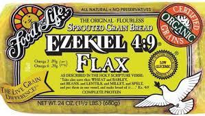 flax bread large