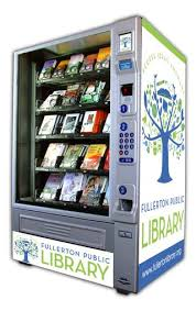 Book Vending Machine Library Classy Library Vending Machine Services Public