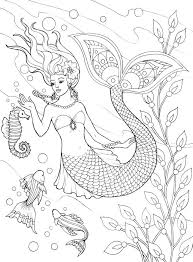 Small Picture Free Mermaid Coloring Pages Coloring Coloring Pages