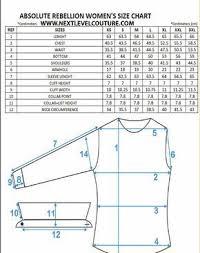 Absolute Rebellion Women Dress Shirt Measurement Sewing