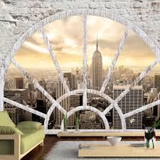 Fototapete New York Die Stadt Am Morgen Mirai Trading Gmbh