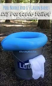 5 gallon bucket and pool noodle s
